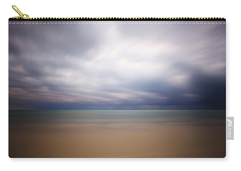 3scape Photos Carry-all Pouch featuring the photograph Stormy Calm by Adam Romanowicz