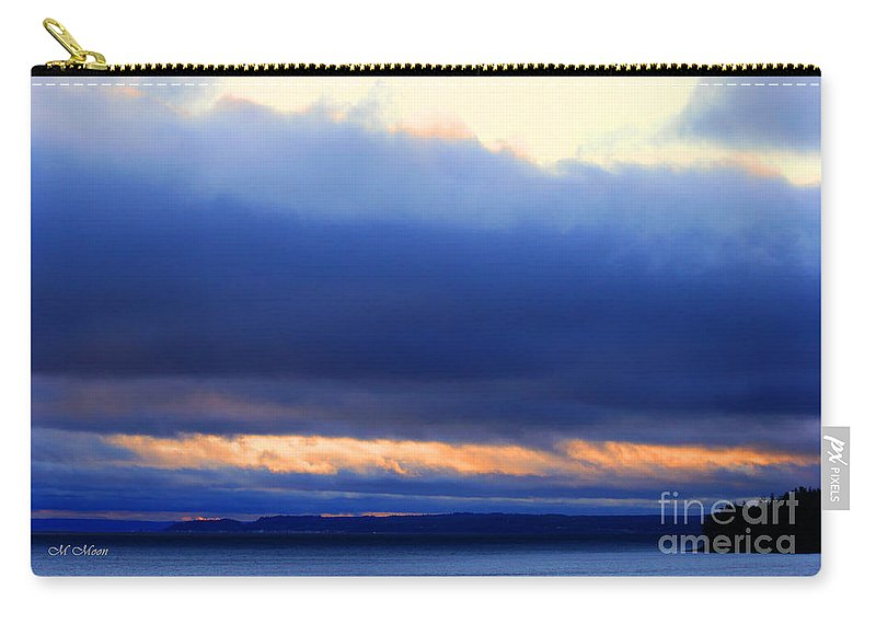 Storm Carry-all Pouch featuring the photograph Stormy Sky by Tap On Photo