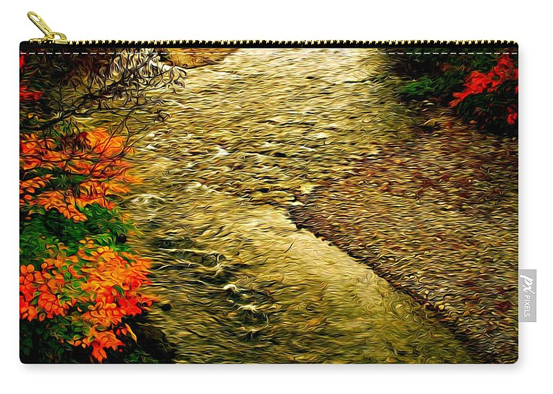 Fall Carry-all Pouch featuring the photograph Stream by Bill Howard