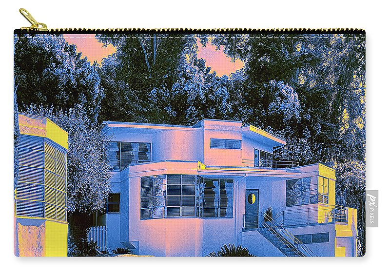 Art Deco Carry-all Pouch featuring the photograph Streamline Moderne by Dominic Piperata