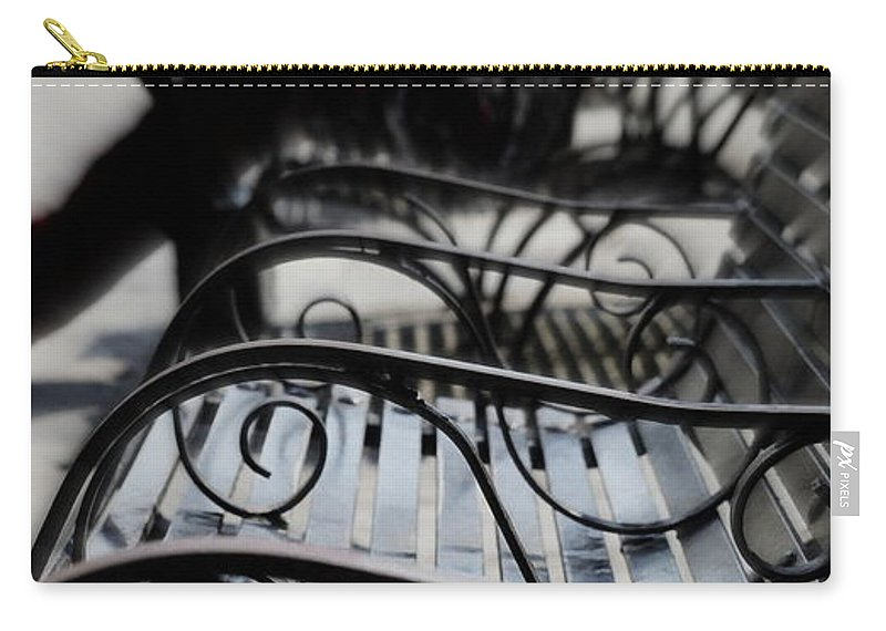 Jazz Carry-all Pouch featuring the photograph Street Jazz In The Big Easy by Paul Wilford