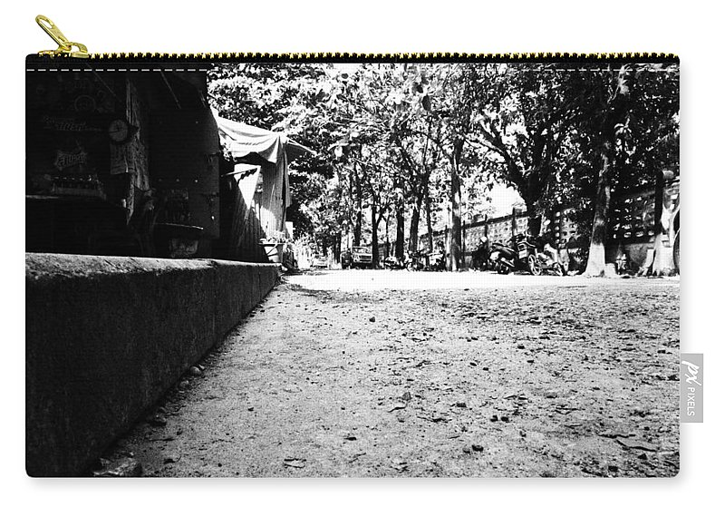 Street Carry-all Pouch featuring the photograph Street Level by Kaleidoscopik Photography