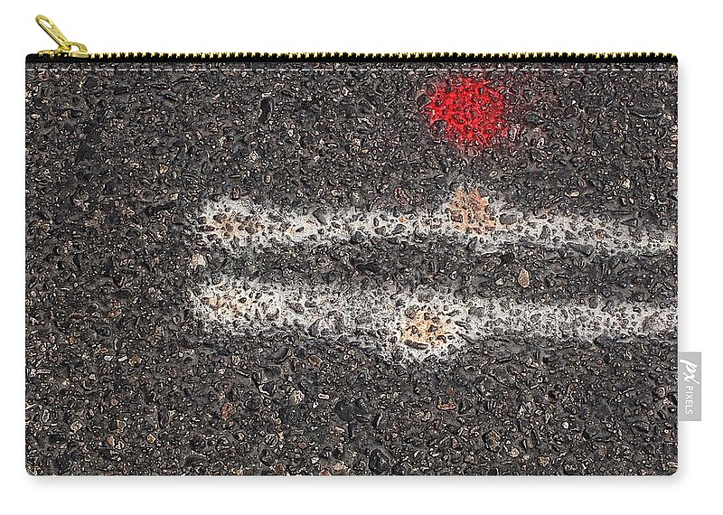 Street Carry-all Pouch featuring the photograph Street Painting Number 5 by Joe Kozlowski
