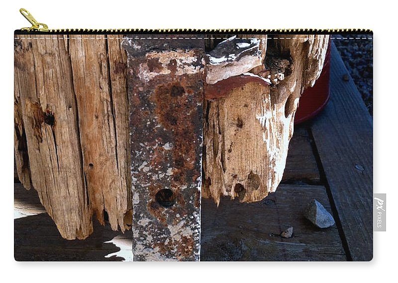 Tombstone Carry-all Pouch featuring the photograph Streets Of Tombstone 14 by Marlene Burns