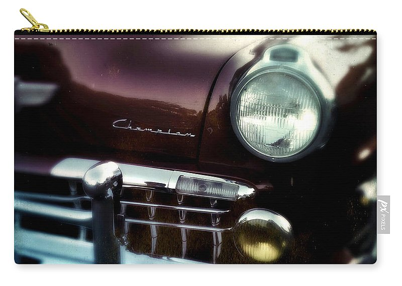 Classic Carry-all Pouch featuring the photograph Studebaker Champion by Tim Nyberg