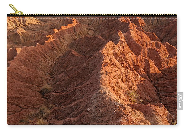 Desert Carry-all Pouch featuring the photograph Stunning Red Rock Formations by Jess Kraft