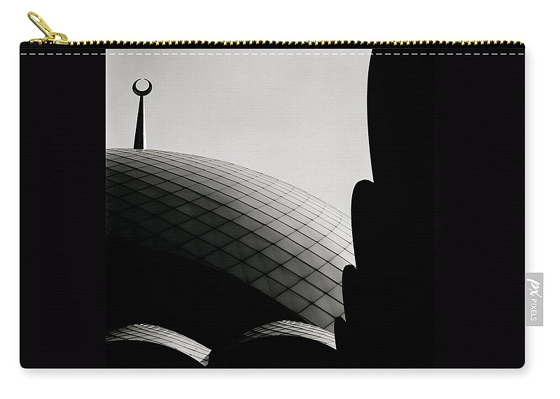 Art Carry-all Pouch featuring the photograph Spiritual Geometry by Shaun Higson