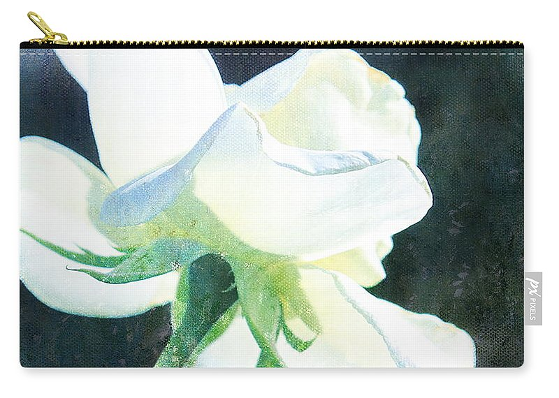 White Rose Carry-all Pouch featuring the photograph Success by Kume Bryant