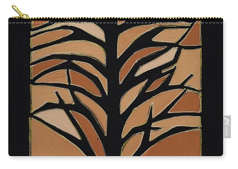 Sugar Maple Carry-all Pouch featuring the painting Sugar Maple by Barbara St Jean