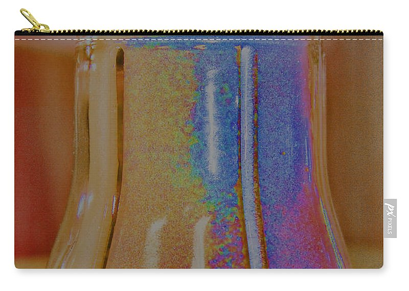 Sugar Carry-all Pouch featuring the digital art Sugar Shaker 1 by Cathy Anderson