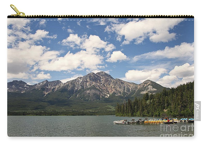Photography Carry-all Pouch featuring the photograph Summer At Pyramid Lake by Ivy Ho