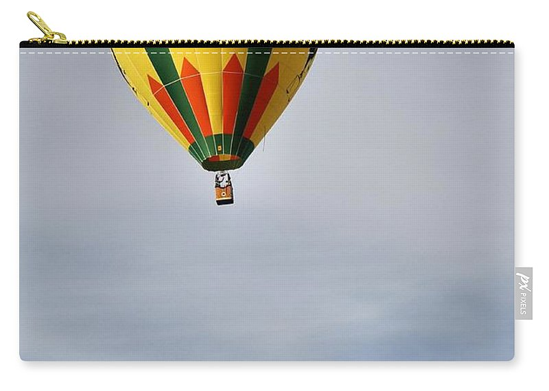 Hot Air Balloon Photograph Carry-all Pouch featuring the photograph Summer Balloons by Dan Sproul