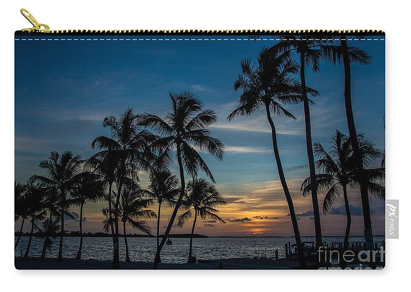 Sunset Carry-all Pouch featuring the photograph Summer Breeze by Rene Triay Photography