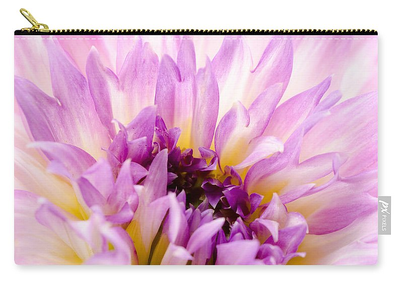 Dahlia Carry-all Pouch featuring the photograph Summer Dahlia by Georgette Grossman
