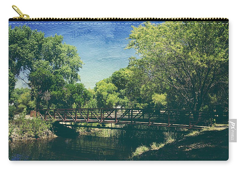 Contra Loma Regional Park Carry-all Pouch featuring the photograph Summer Draws Near by Laurie Search