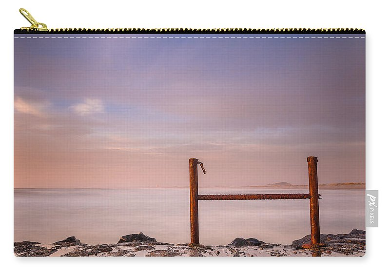 North Jetty Carry-all Pouch featuring the photograph Summer Evening On North Jetty by Greg Nyquist