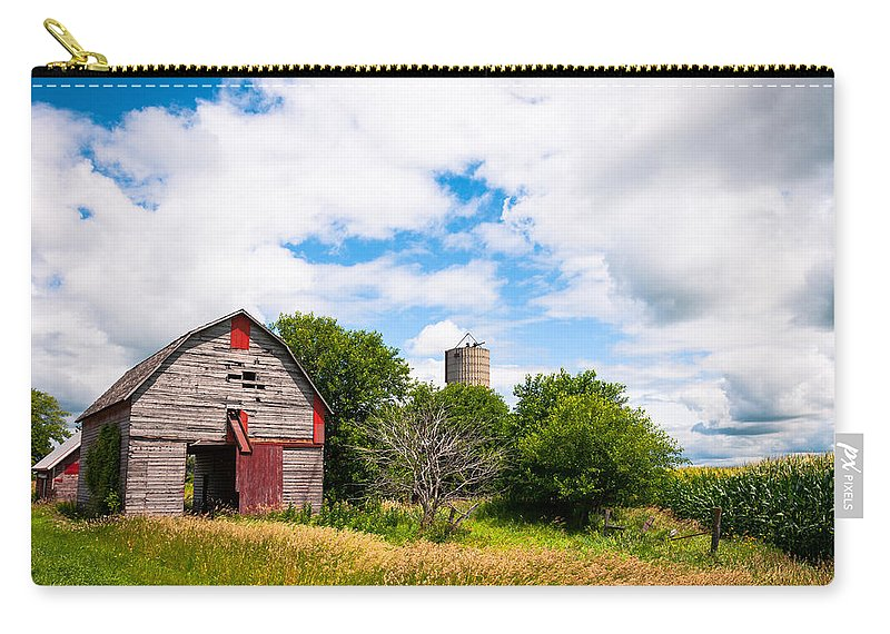 Farm Carry-all Pouch featuring the photograph Summer Farm by Lauri Novak
