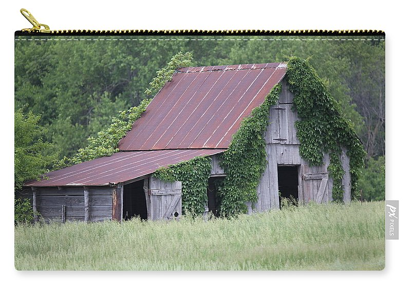Kansas Carry-all Pouch featuring the photograph Summer Growth by Lynn Sprowl