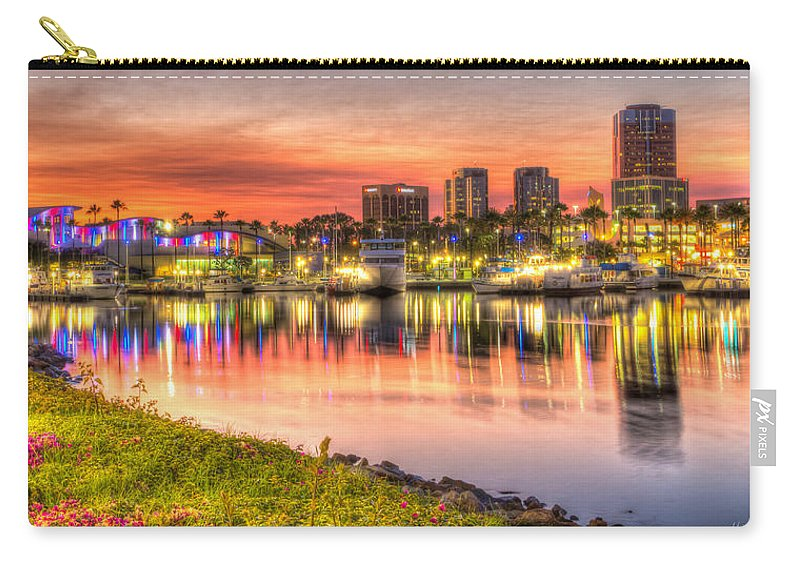 Harbor Carry-all Pouch featuring the photograph Summer In The City by Heidi Smith