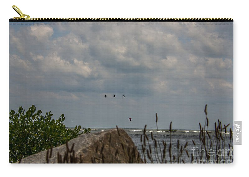 Breach Inlet Carry-all Pouch featuring the photograph Summer Is Calling by Dale Powell
