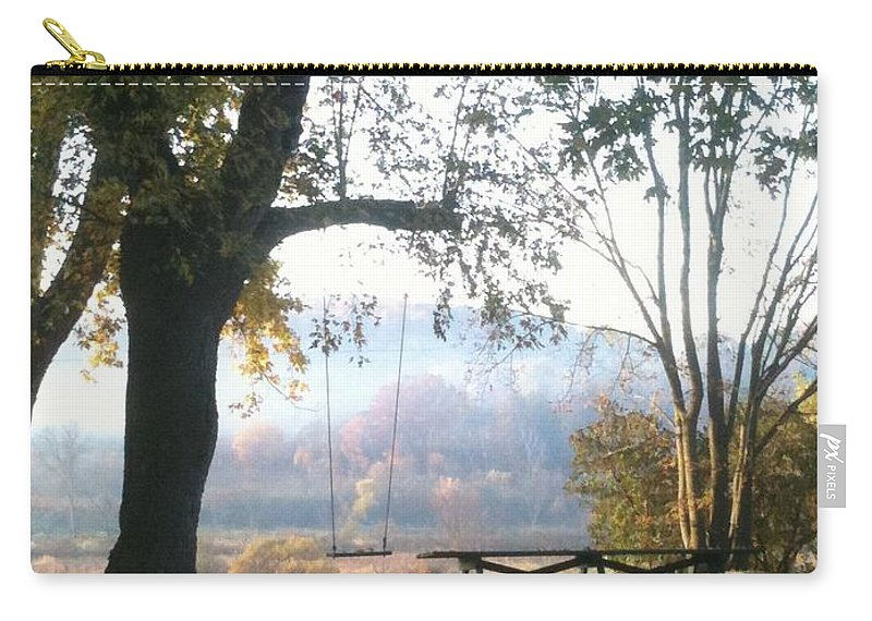 Landscape Carry-all Pouch featuring the photograph Summer Is Over by Coleen Harty