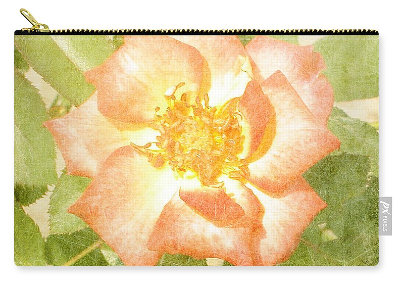 Summer Carry-all Pouch featuring the photograph Summer Rose by Alys Caviness-Gober