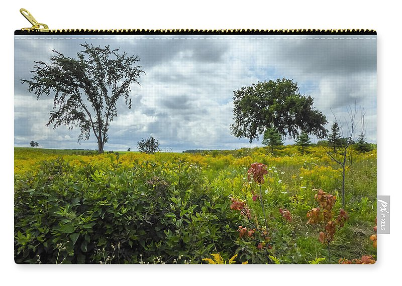 Nature Carry-all Pouch featuring the photograph Summer Scene by Richard Kitchen