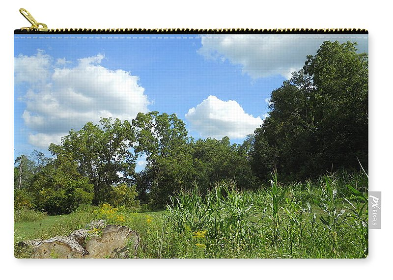Skylines Carry-all Pouch featuring the photograph Summer Scenery by Coleen Harty