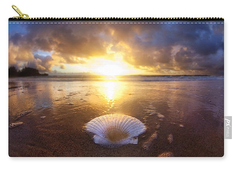 Clam Carry-all Pouch featuring the photograph Summer Solstice by Sean Davey