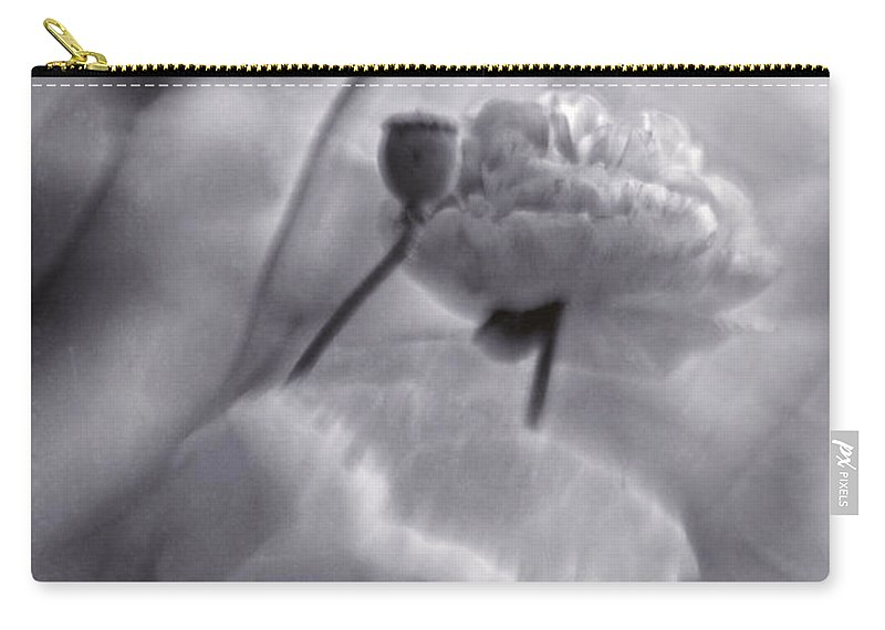 And Carry-all Pouch featuring the photograph summer whispers II by Priska Wettstein