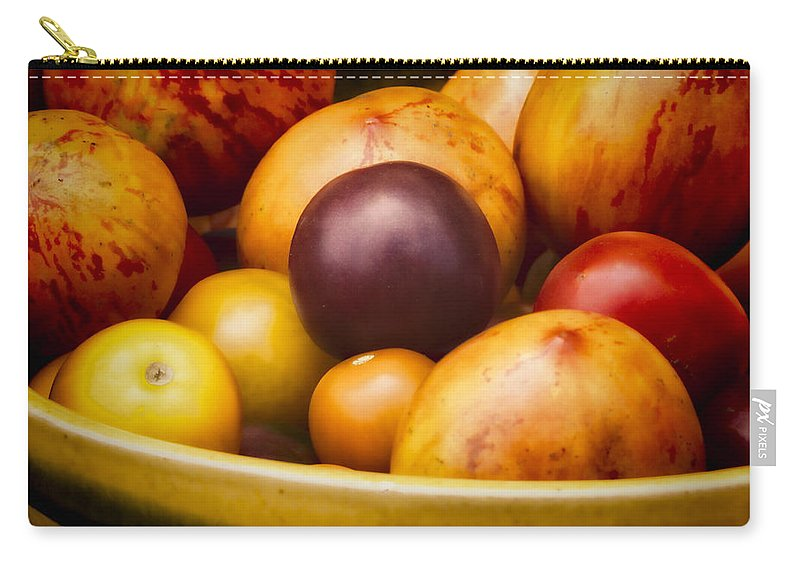 Tomatoes Carry-all Pouch featuring the photograph Summer's Delight by David Kay