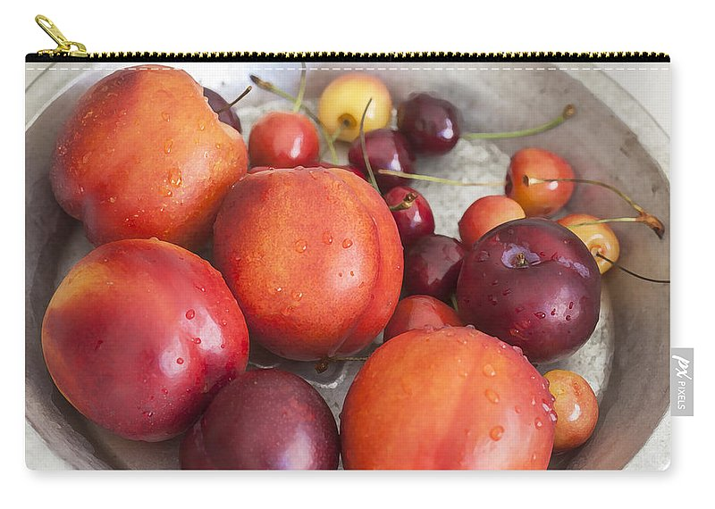 Fresh Fruit Carry-all Pouch featuring the photograph Summers Harvest by Rich Franco
