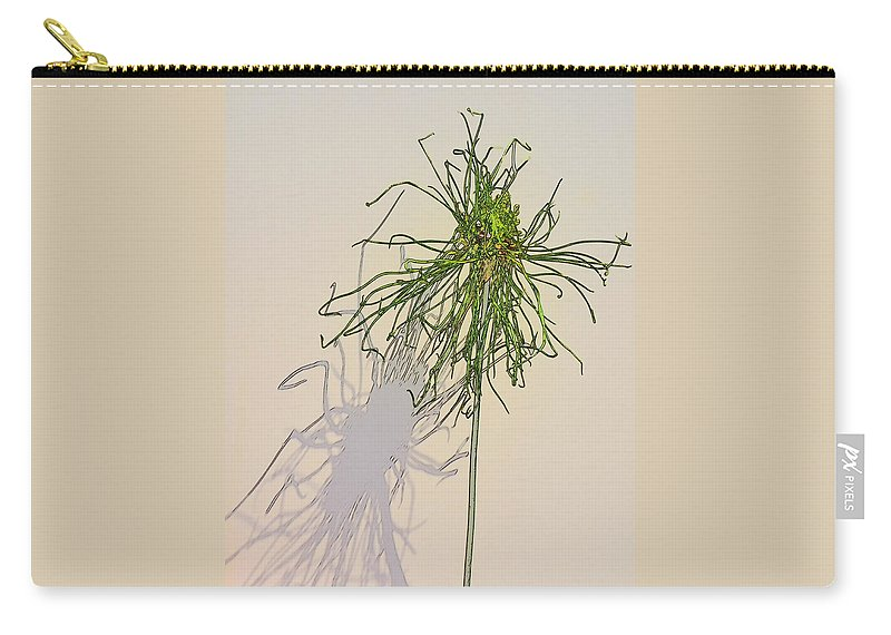 Allium Carry-all Pouch featuring the photograph Summers Shadow by Randy J Heath