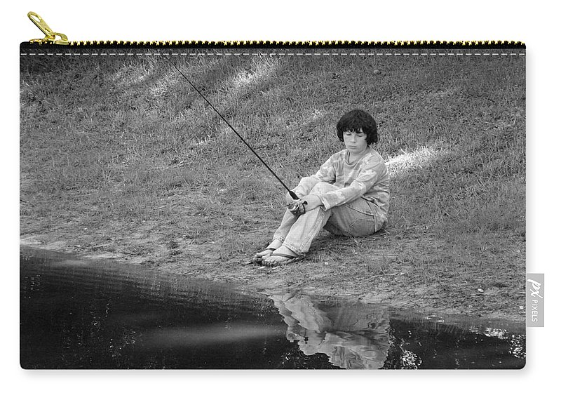 Summer Carry-all Pouch featuring the photograph Summertime Reflection by J M Farris Photography