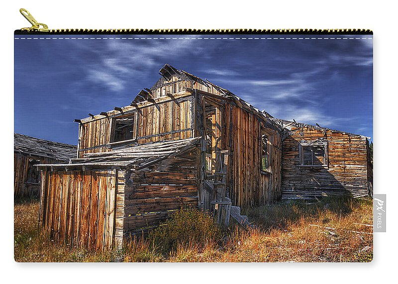 Summitville Carry-all Pouch featuring the photograph Summitville Fixer-upper by Priscilla Burgers