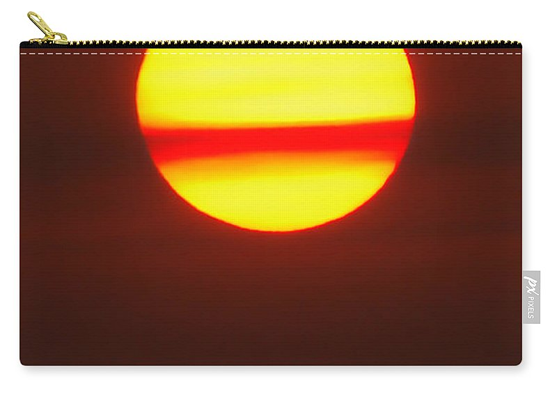 Sun Carry-all Pouch featuring the photograph Sun Belt by Donna Blackhall