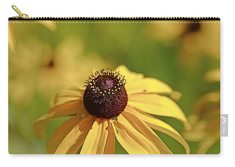 Background Carry-all Pouch featuring the photograph Sun Crown by Jack R Perry