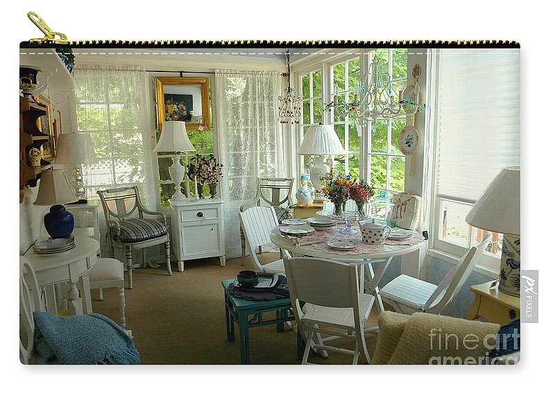 Sun Carry-all Pouch featuring the photograph Sun Room by Kathleen Struckle