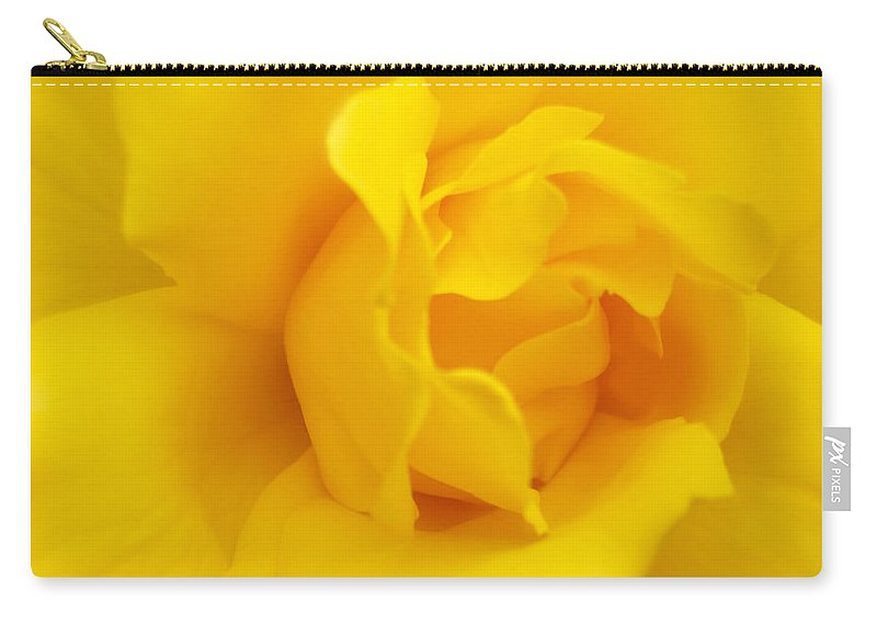 Rose Carry-all Pouch featuring the photograph Sunburst Rose Flower by Jennie Marie Schell