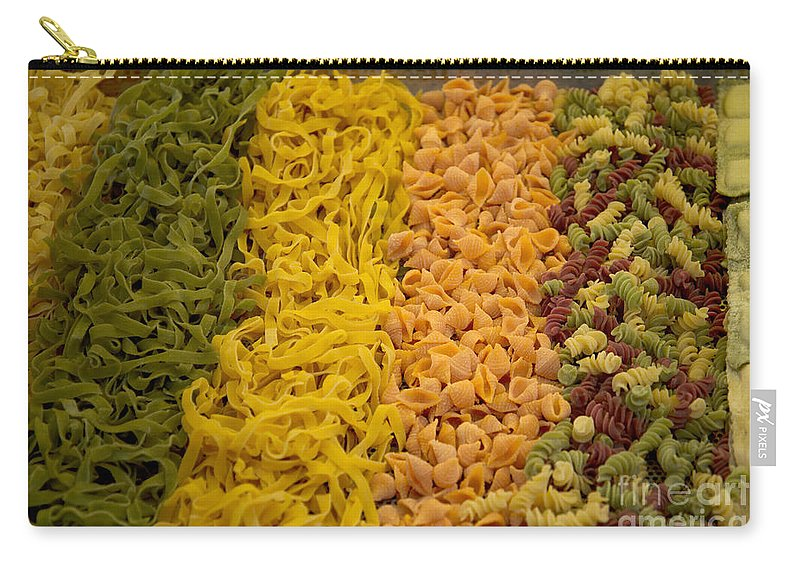 Food Carry-all Pouch featuring the digital art Sunday Market by Carol Ailles