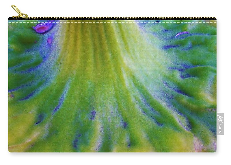 Sunflower Carry-all Pouch featuring the photograph Sunflower...moonside 2 by Daniel Thompson
