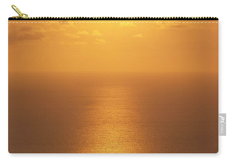 Suset Pictures Carry-all Pouch featuring the photograph Sunlight by Athala Carole Bruckner