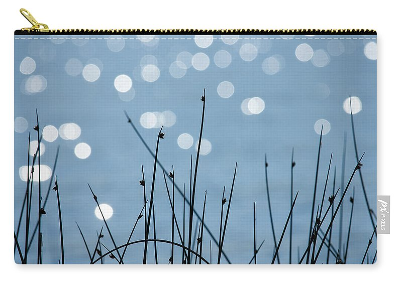 Water Carry-all Pouch featuring the photograph Sunlight Dances by Penny Meyers