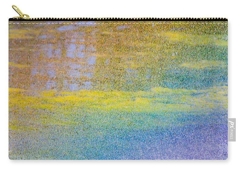 Water Carry-all Pouch featuring the photograph Sunlight Through Water by Marie Jamieson