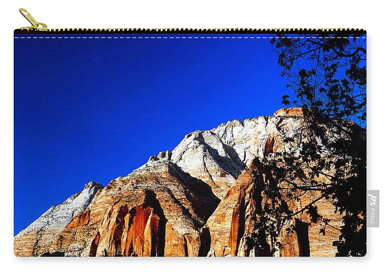 Sunlit Carry-all Pouch featuring the photograph Sunlit by Tayne Hunsaker