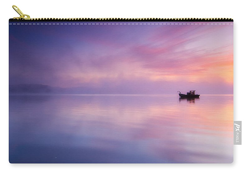 Sunrise Carry-all Pouch featuring the photograph Sunrise Bay by Darren White
