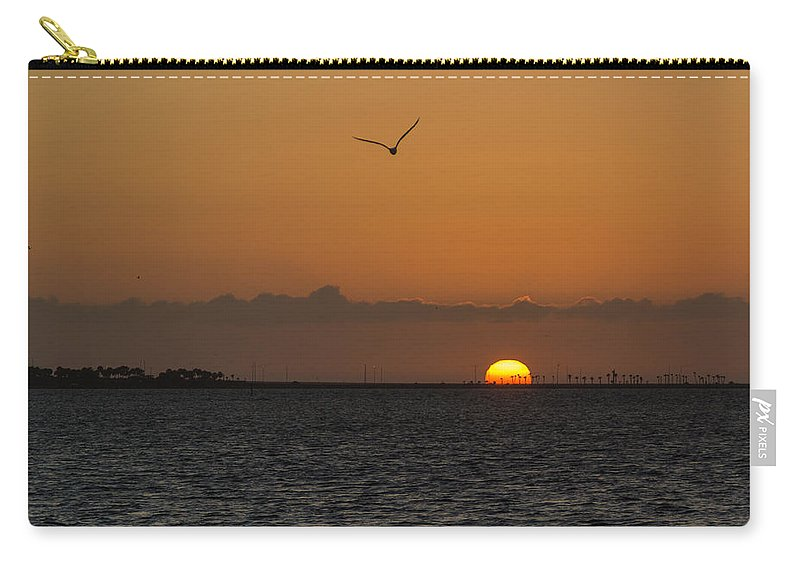 Florida Carry-all Pouch featuring the photograph Sunrise by Jane Luxton