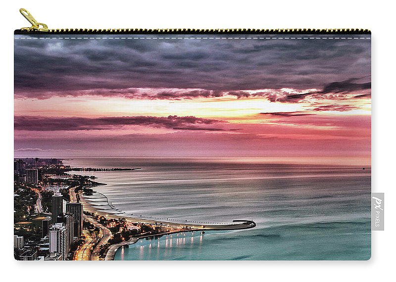 Tranquility Carry-all Pouch featuring the photograph Sunrise by Jnhphoto