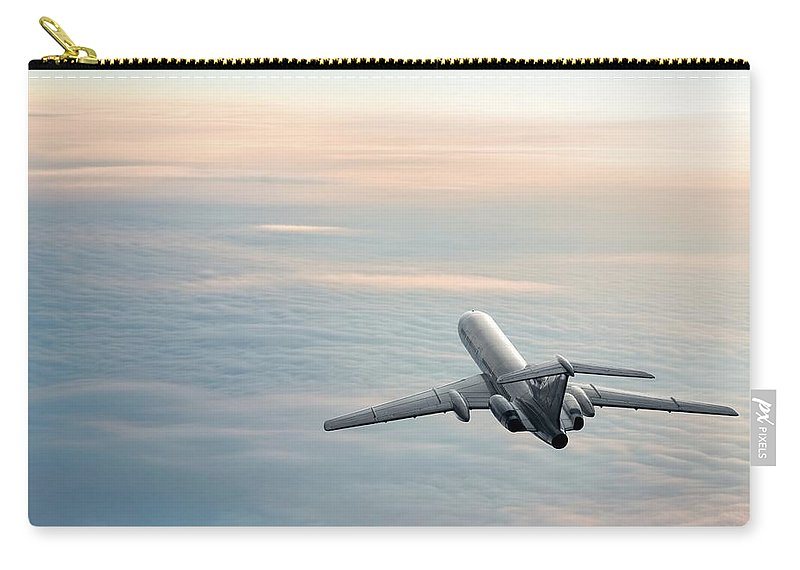 Scenics Carry-all Pouch featuring the photograph Sunrise Journey by Egorych