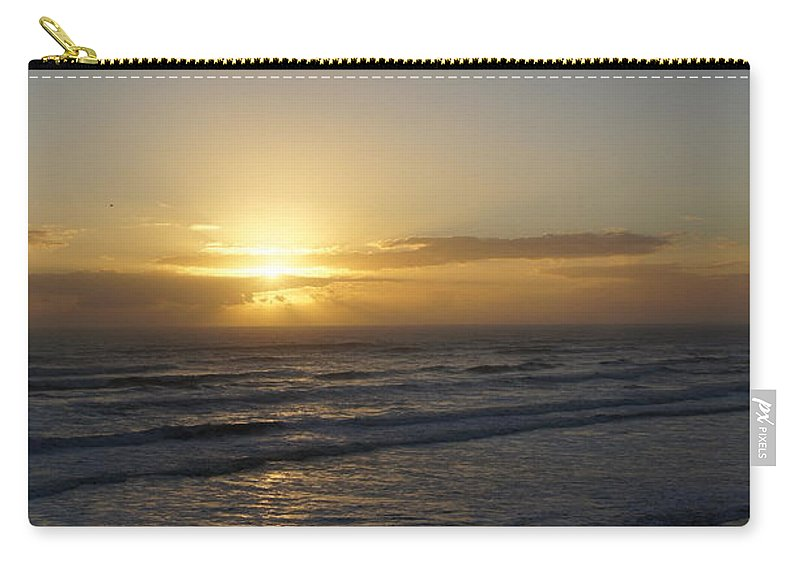 Sunrise Carry-all Pouch featuring the photograph Sunrise by Megan Cohen